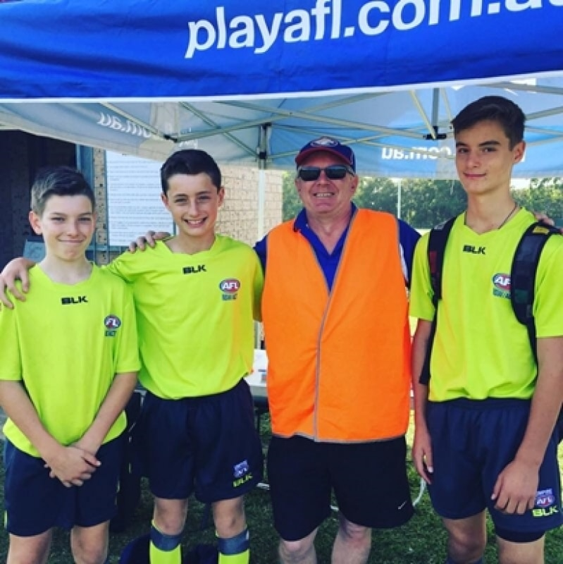 Become an AFL Umpire today