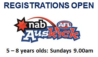 Auskick Registrations