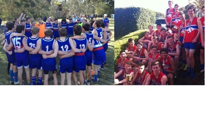 U14's and U17's Premiers 2014