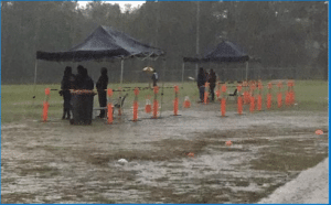 Wet weather football at Westbrook - Season Summary